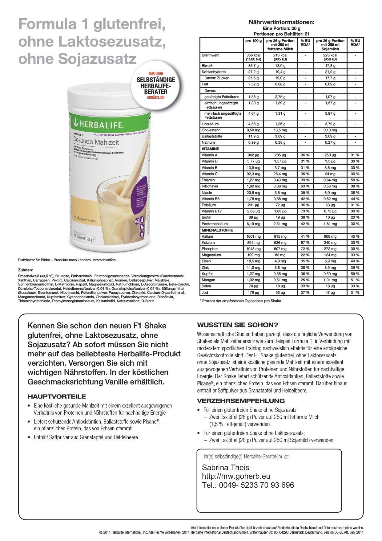 Haben Sie Lebensmittelintoleranzen Allergien Neu Herbalife Formula1 Gluten Freier Protein Shake Laktose Frei Lebensmittel Intoleranz Herbalife Allergien