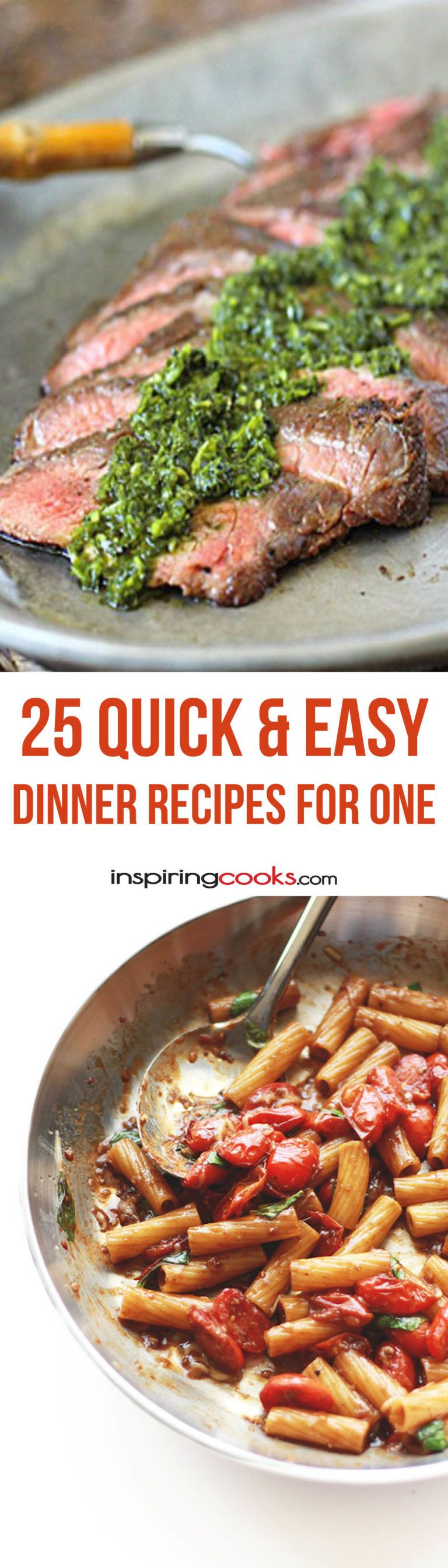 9 quick easy single dinner recipes for one person recetas para 25 quick easy dinner recipes for one person more forumfinder Choice Image