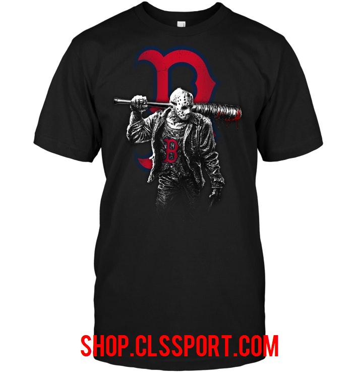 e50d78d366fe9 Jason Voorhees Red Sox Cleveland Indians Shirt