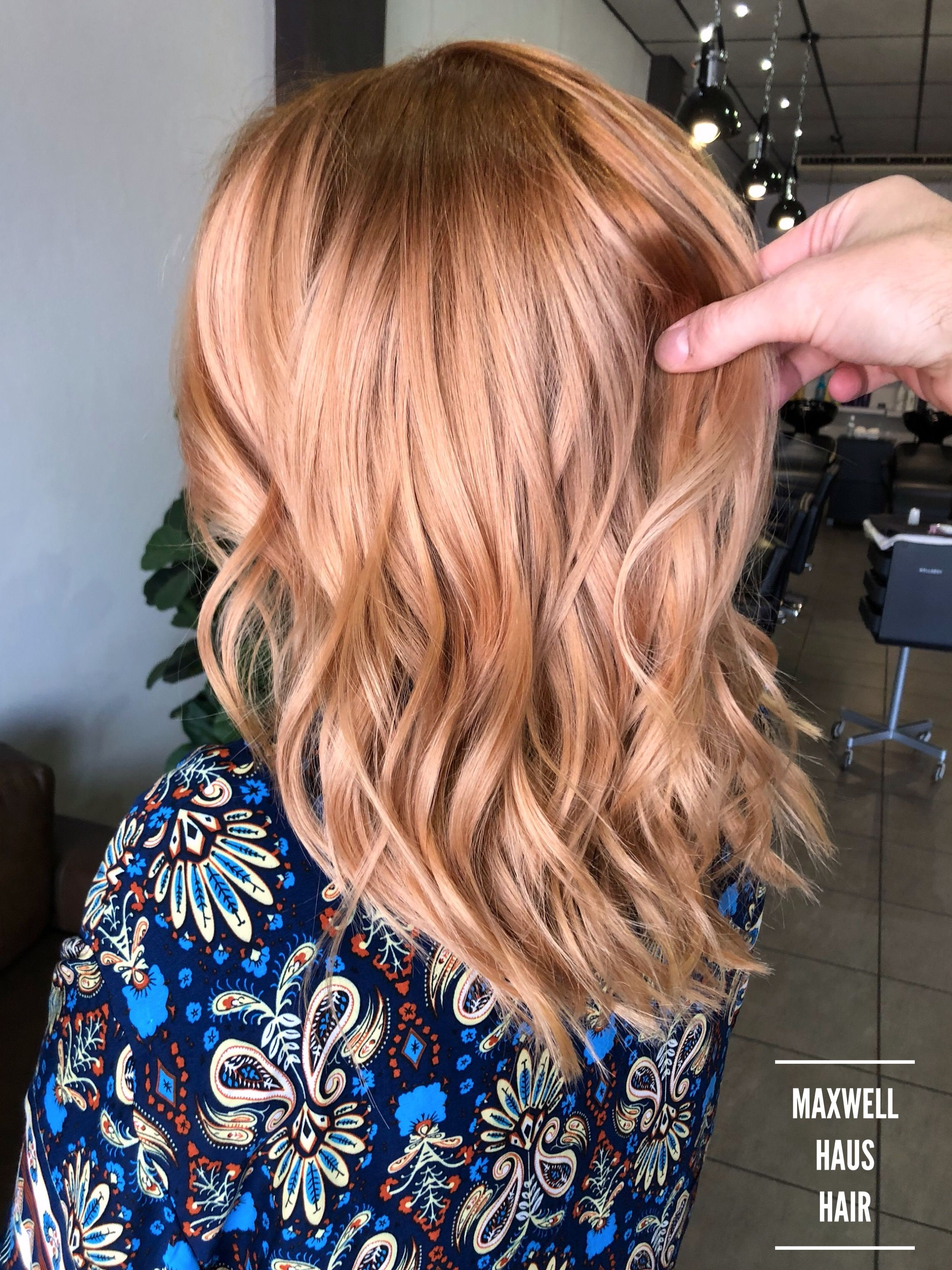 The Peachy Tones Makes The Color Pop Wella Illumina Formula