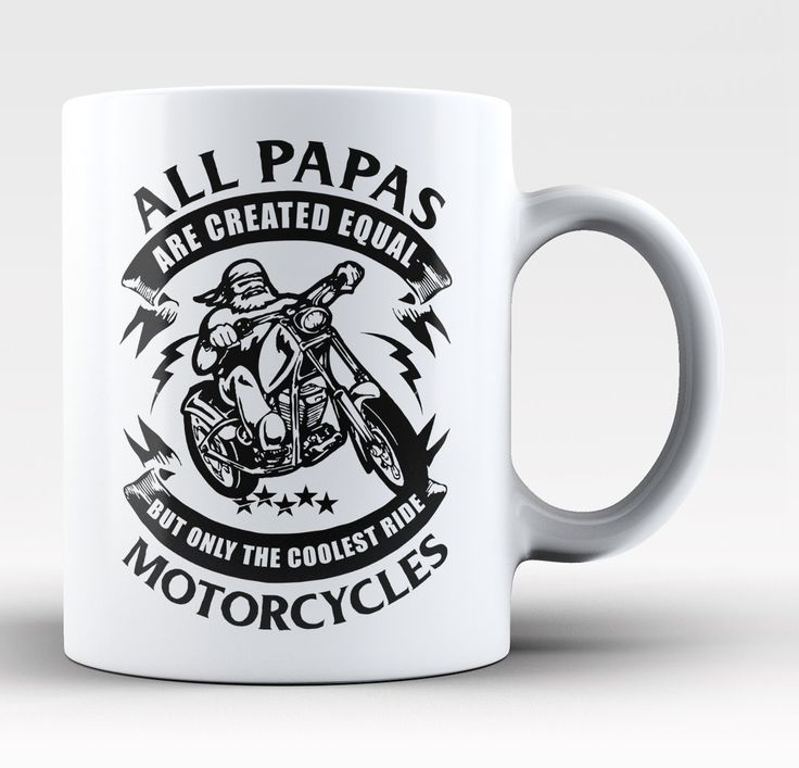 Only the Coolest Nicknames Ride Motorcycles  Personalized Mug  Cup  Only the Coolest Papas Ride Motorcycles  Mug