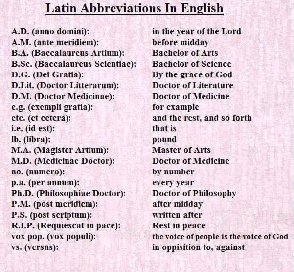 Pin On Latin Phrases