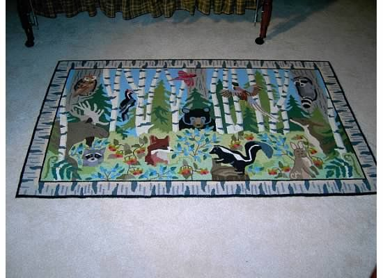 My Living Room Rug In Maine Home Quot Maine Woods Quot Claire