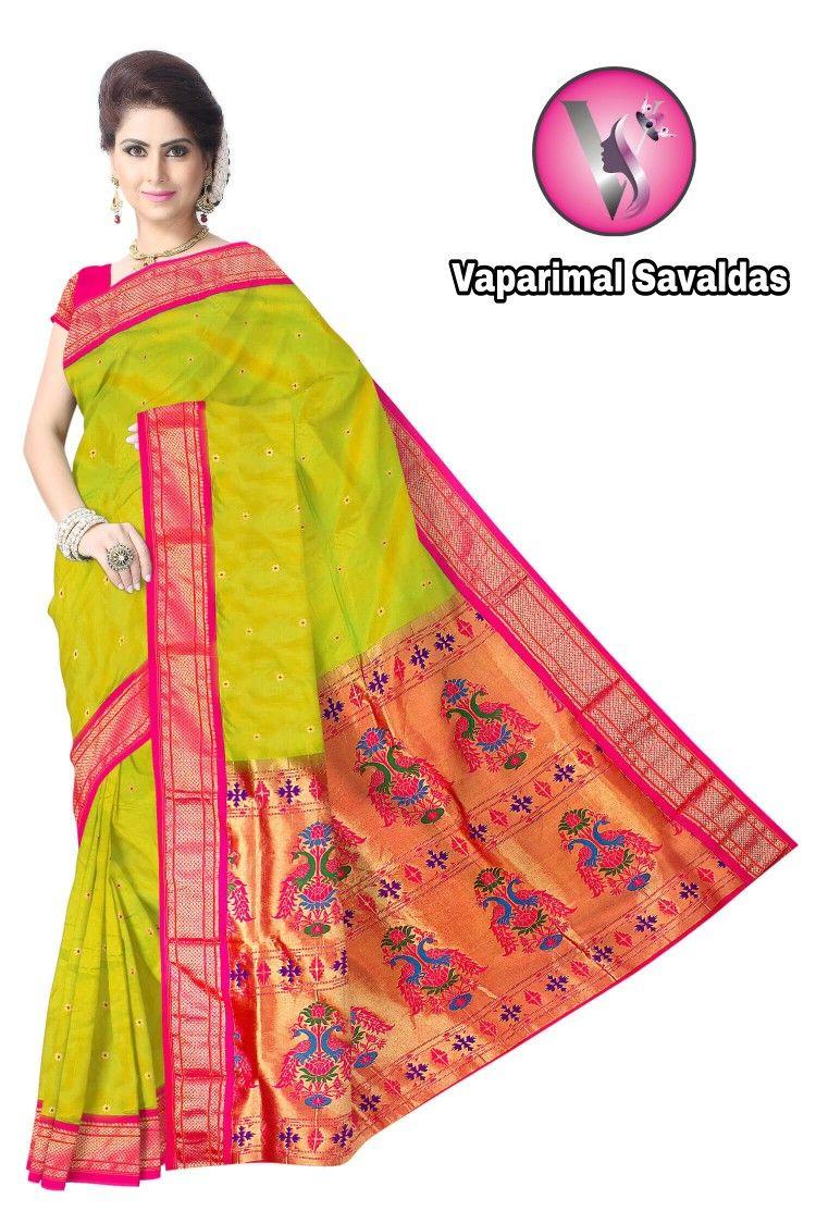Saree images paithani paithani  sarees  pinterest  saree