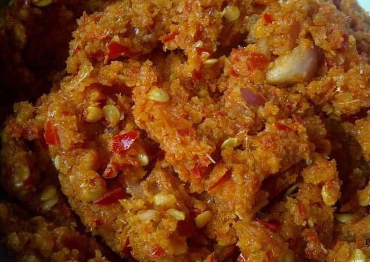 Resep Sambel Wader Oleh Dapur A4 Resep Resep Makanan Makanan Resep