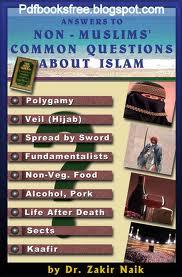 Dr. Zakir Naikin kirjoja, englanniksi tai suomeksi, saa olla käytettyjäkin, meillä näitä löytyy vain farsiksi tällä hetkellä, eli mikä tahansa kirja kelpaa :)