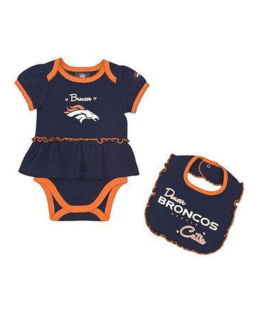 ad6eb91e Take a look at this Denver Broncos Skirted Bodysuit & Bib - Infant ...