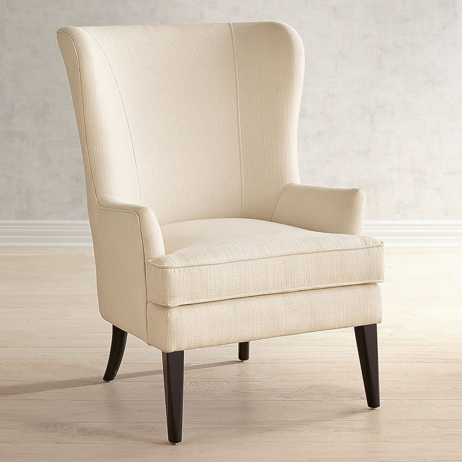 Asher Flynn Floral Print Chair White bedroom chair