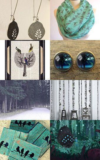 Forest by badaradio on Etsy--Pinned with TreasuryPin.com