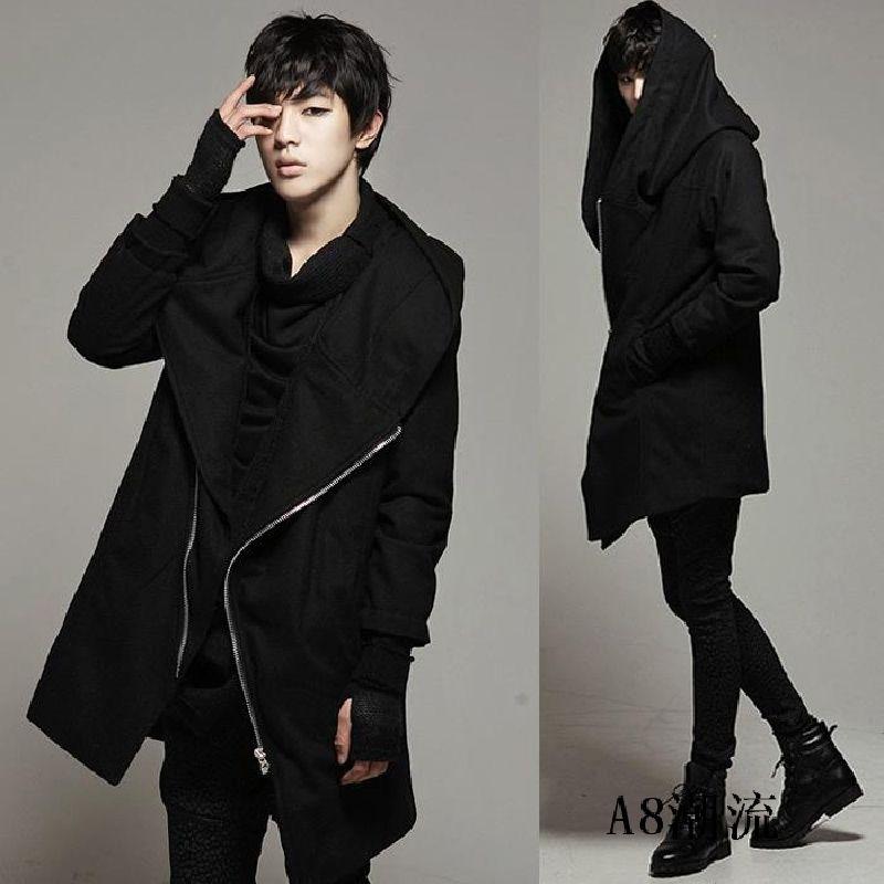 Uomo Moda Anche guanti 2015 Giacche Gothic cappotti e invernali rqrvE0wp