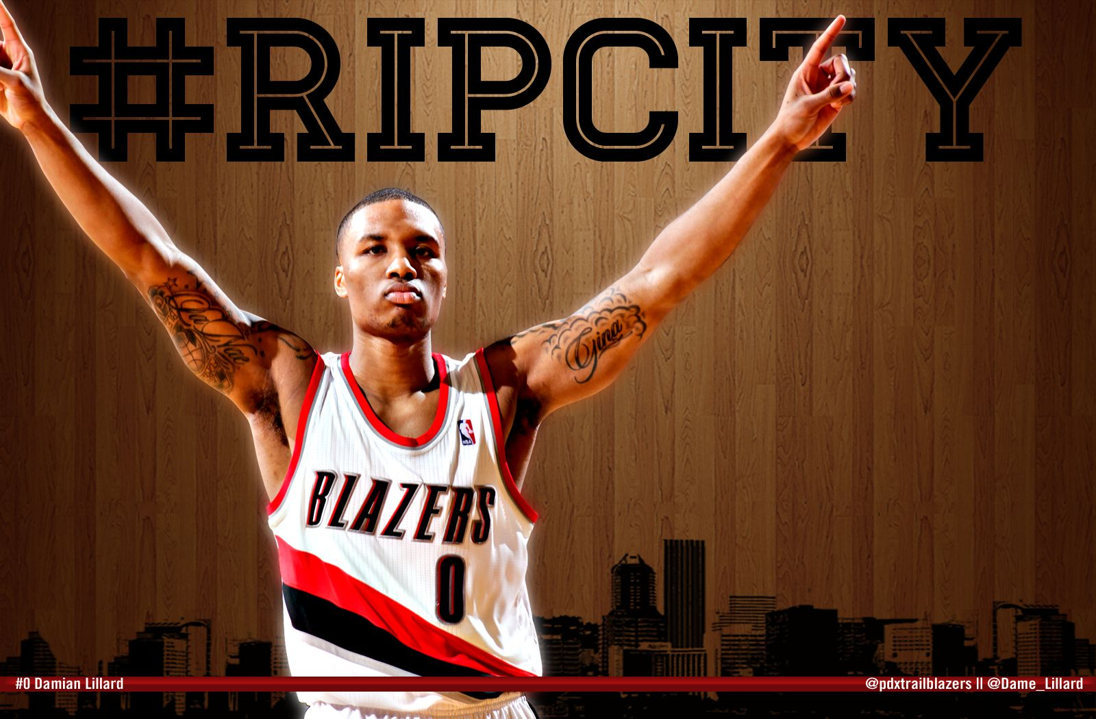 Damian Lillard Rookie Of The Month For December RipCity