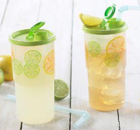 Lemon Thirstquake(r) Tumblers Set my.tupperware.ca/kathycook to order