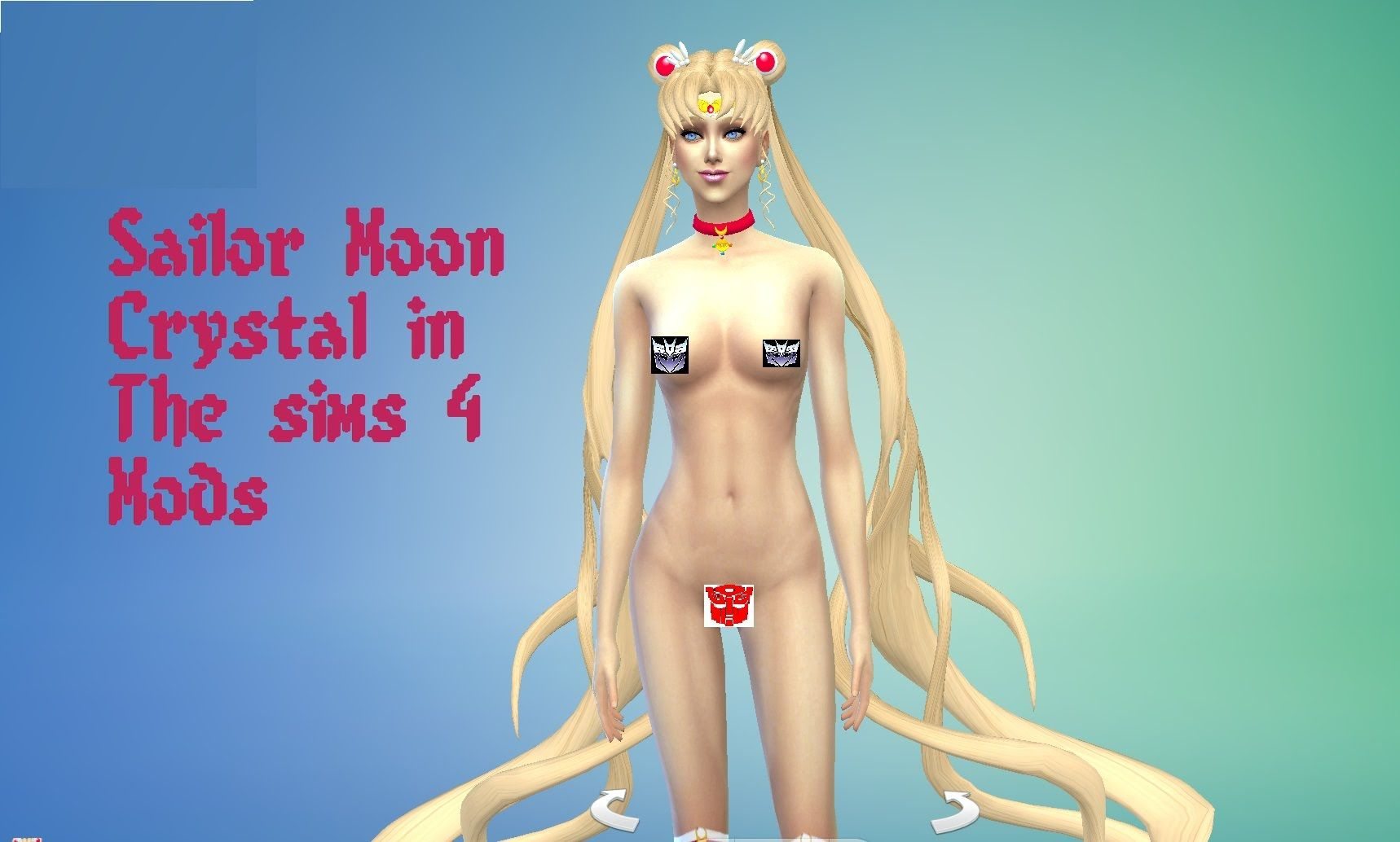Sims 4 Anime Characters Mod : Sailor moon crystal in the sims mods games pinterest