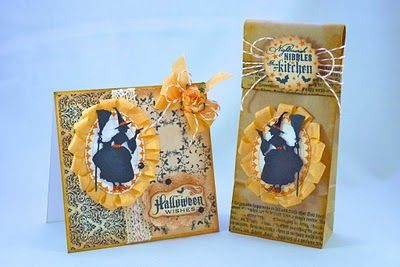 A couple of cute cards for Halloween