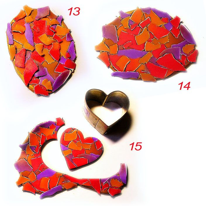 Ronit Golan - Polymer Clay Joy - Inspire to Create: Watercolor Mosaic Tutorial