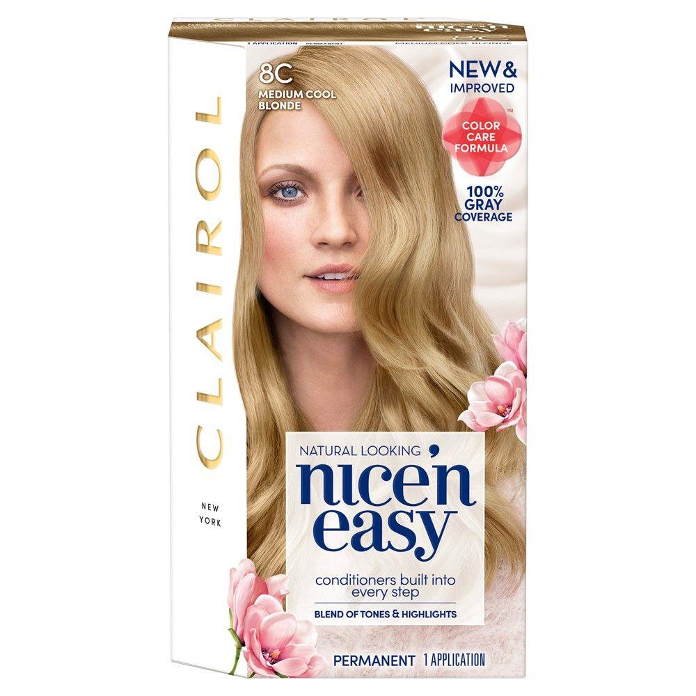 Clairol Nice N Easy Permanent Hair Color 6 Light Brown 1 Kit