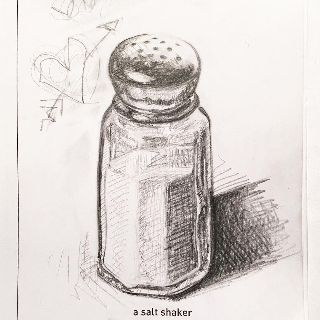 a salt shaker | tattoos in 2019 | Salt, Drawings, Sketches