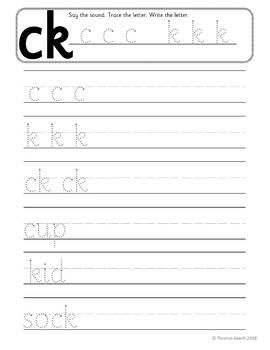 This C K Ck Lesson Pack Contains Everything You Need To Teach The K Phoneme And As You Follow Jolly Phonics 1 C K Ck Jolly Phonics Phonics Worksheets Phonics Reception english worksheets pdf uk