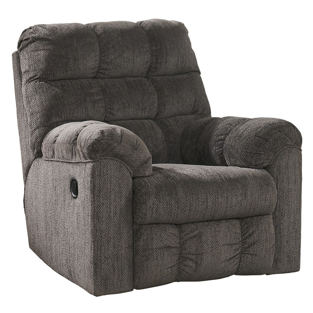 Accent Chairs Space Gray Signature Design By Ashley Recliner