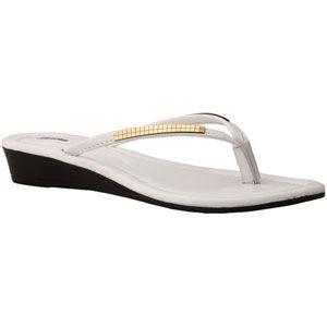 White sandal by Bata #batashoes