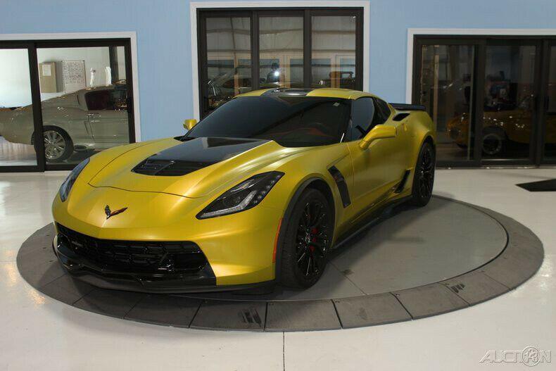 2015 Corvette Supercharged Z06 Chevy Gray Vette Supercharger 3lz