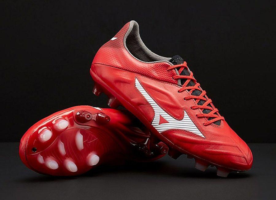 ff317c741436 #football #soccer #futbol #footballboots #Mizunofootball Mizuno Rebula 2 V1  - High Risk Red / White / Black