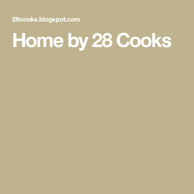 Home by 28 Cooks