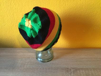 Knit a rasta beanie: Download the free pattern for this beanie on my ...