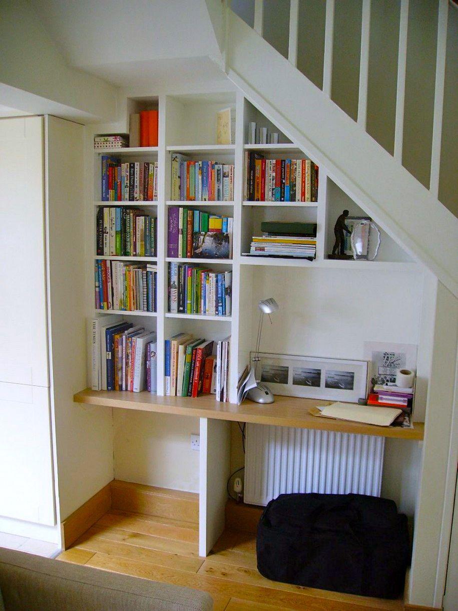 Top Un bureau sous l'escalier? C'est possible! | Bureaus, Desk space  FN83