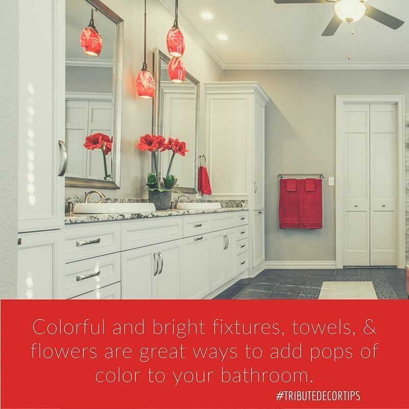 These simple touches are easy to switch out and keep your décor fresh! by tkbremodeling