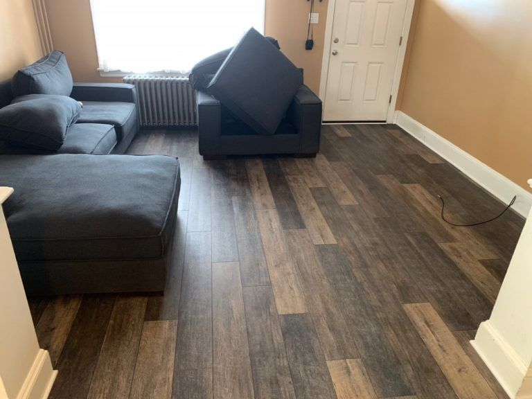 Carpet Upgraded To Allergy Friendly Luxury Vinyl Planks Luxury Vinyl Plank Vinyl Plank Luxury Vinyl