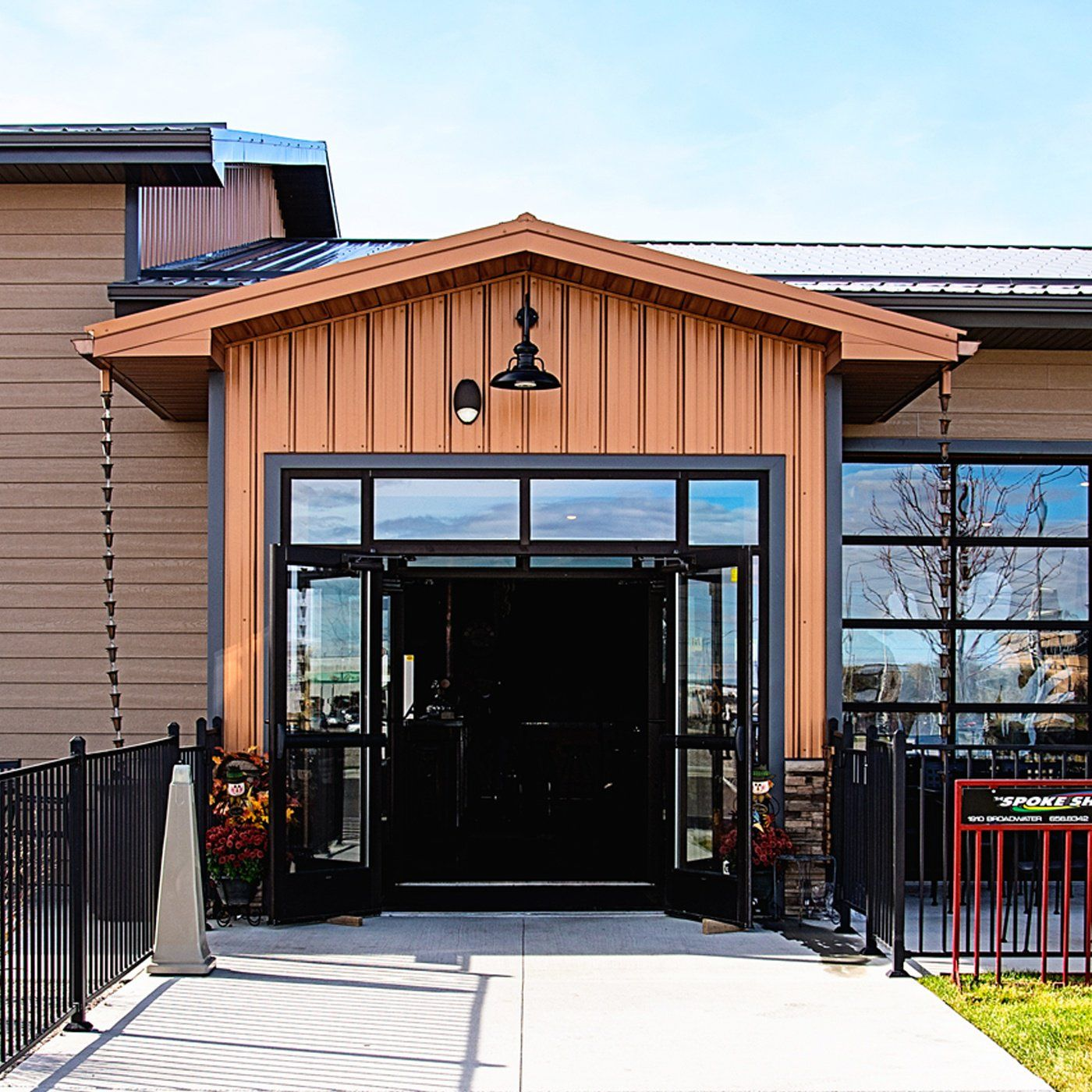 Metal Siding Panels For Exterior And Interior Walls By Bridger Steel Metal Siding Copper House House Exterior