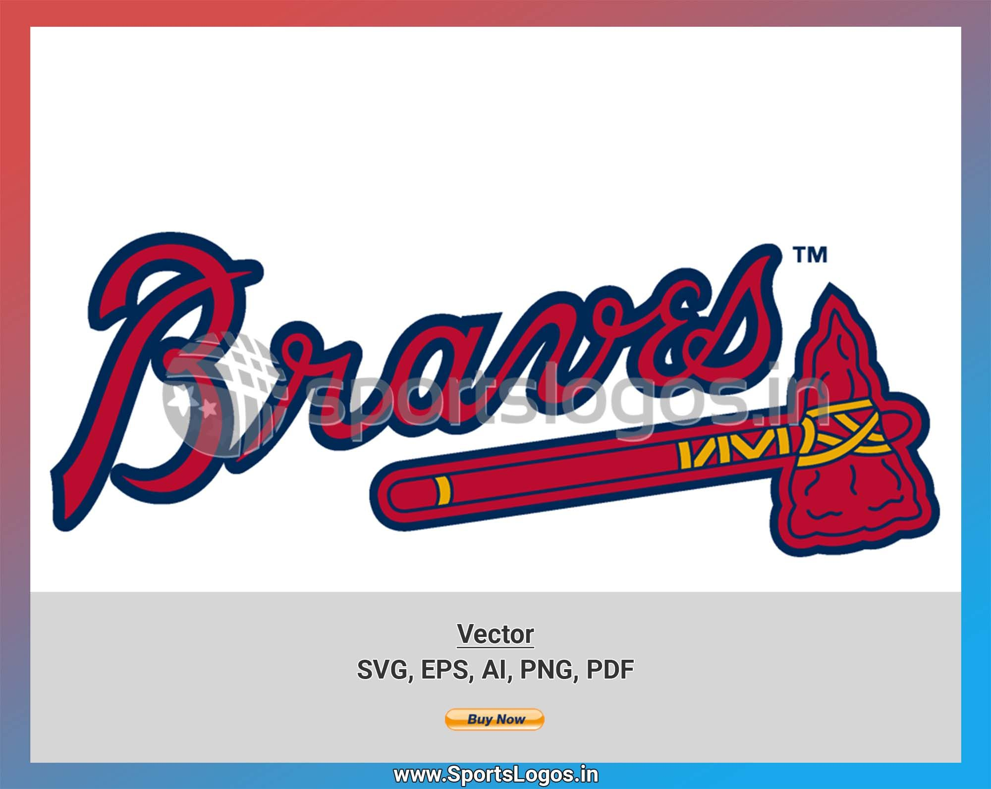 Atlanta Braves Baseball Sports Vector Svg Logo In 5 Formats Spln000203 Sports Logos Embroidery Vector For Nfl Nba Nhl Mlb Milb And More In 2020 Atlanta Braves Baseball Atlanta Braves Embroidery Logo
