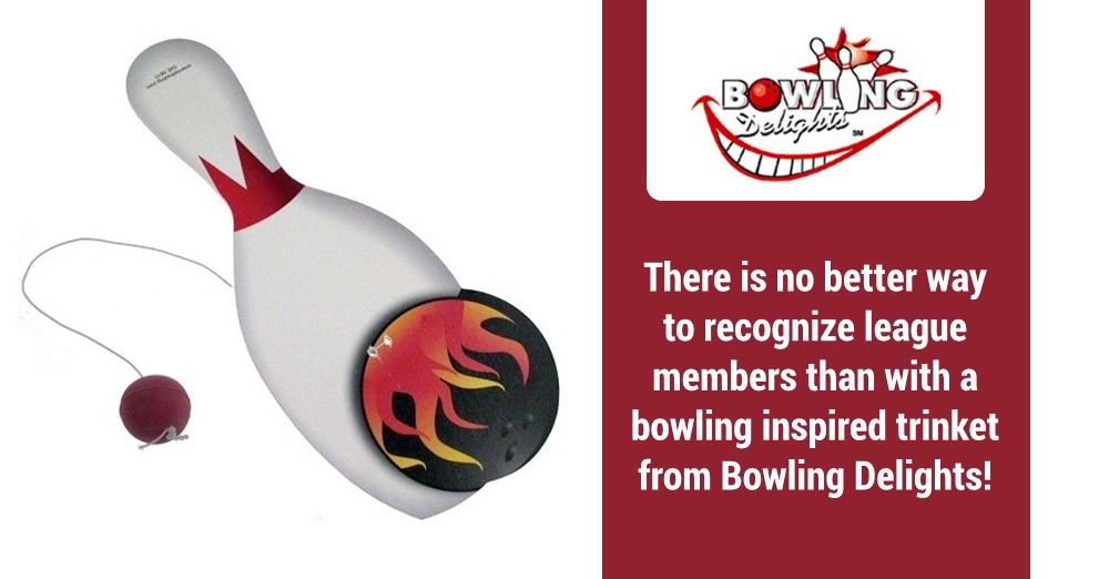 There Is No Better Way To Recognize League Members Than With A Bowling Inspired Trinket From Bowling Delights Bowl Bowling Gifts Bowling Bowling Accessories