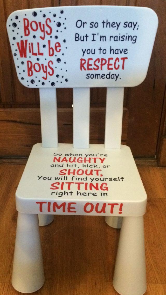 Bon Boy Time Out Chair   JW