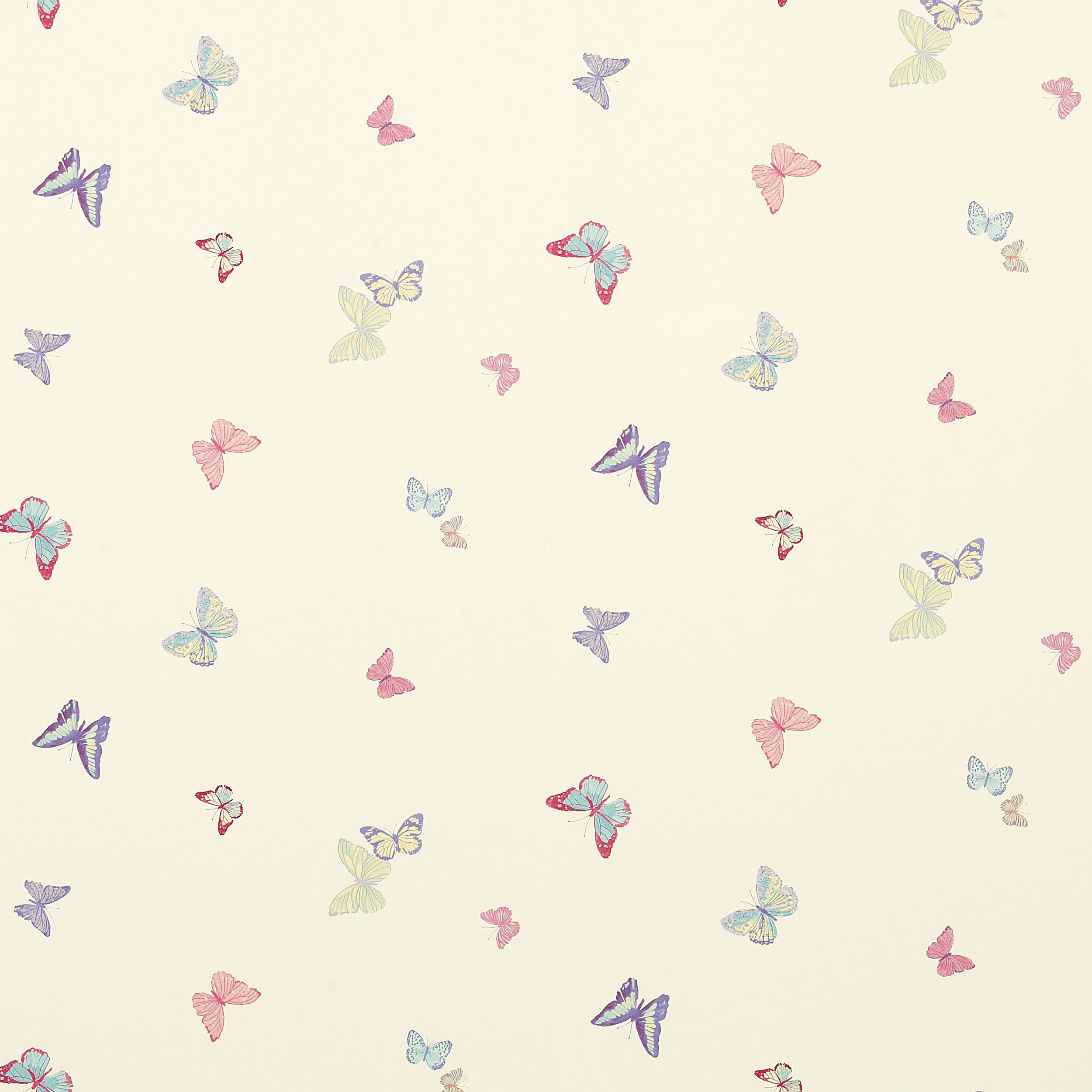 Pink Wallpaper For Bedroom Summer Meadow Butterfly Wallpaper Cerise Pink Multi At Laura