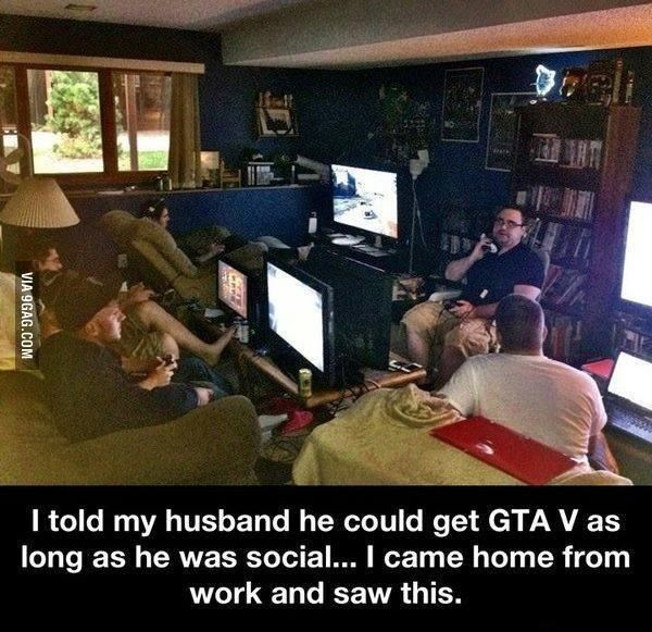 Gta V Steamed My Husband Funny Games Funny Funny Memes