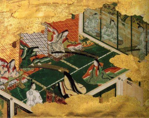 箏が描かれている浮世絵作品から 日本画 浮世絵 大和絵
