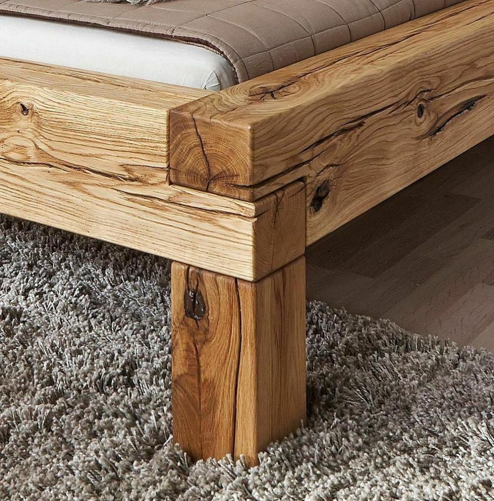 Massivholz Bett 180x200 Wildeiche Geolt Balkenbett Doppelbett Bettgestell Holz Ebay In 2020 Bett Selber Bauen Bett Holz Bett Eiche