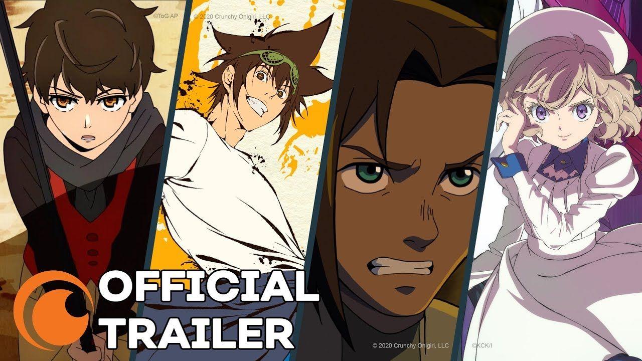 Crunchyroll Details Its First Eight Original Anime
