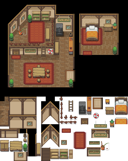 Home Interior Design Game Online: Pin By Flaring Will On Pokemon Tilesets In 2019