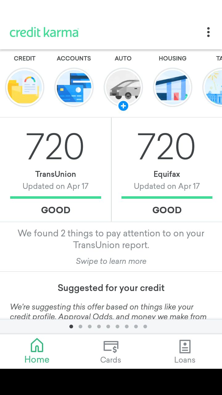 See my new video i made today how to get credit karma