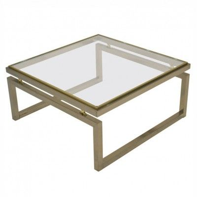 Coffee Table By Unknown Designer For Maison Jansen 23872 Mesas