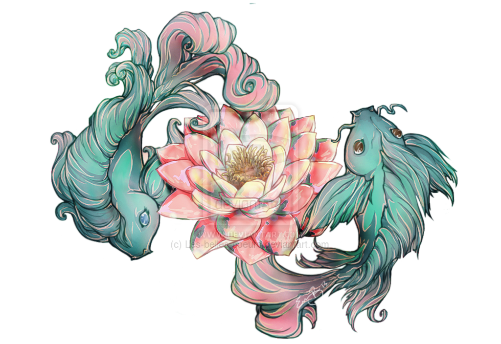 Not this exact drawing but the idea of the lotus flower