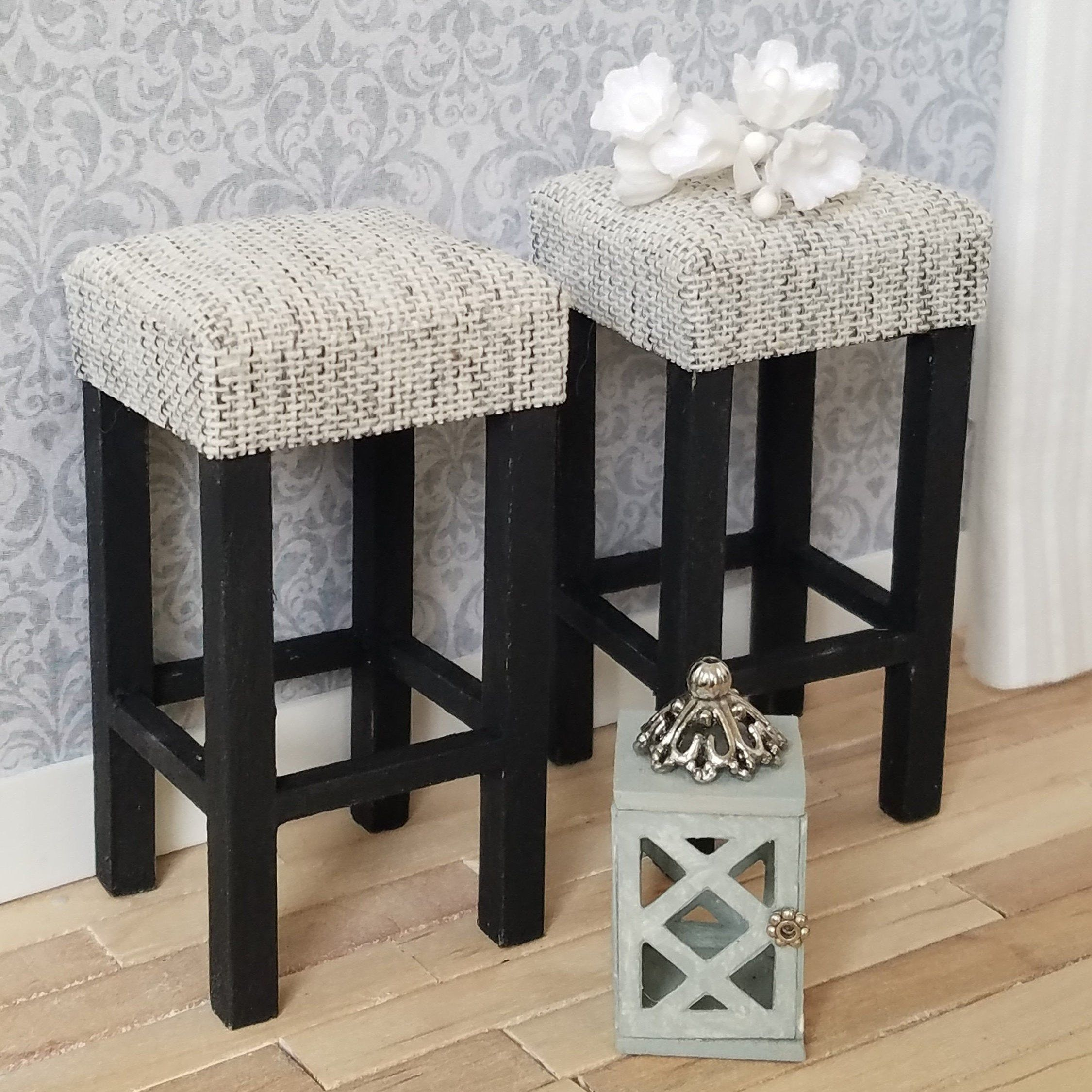 Miniature Bar Stools Miniature Tall Stools Kitchen Stools