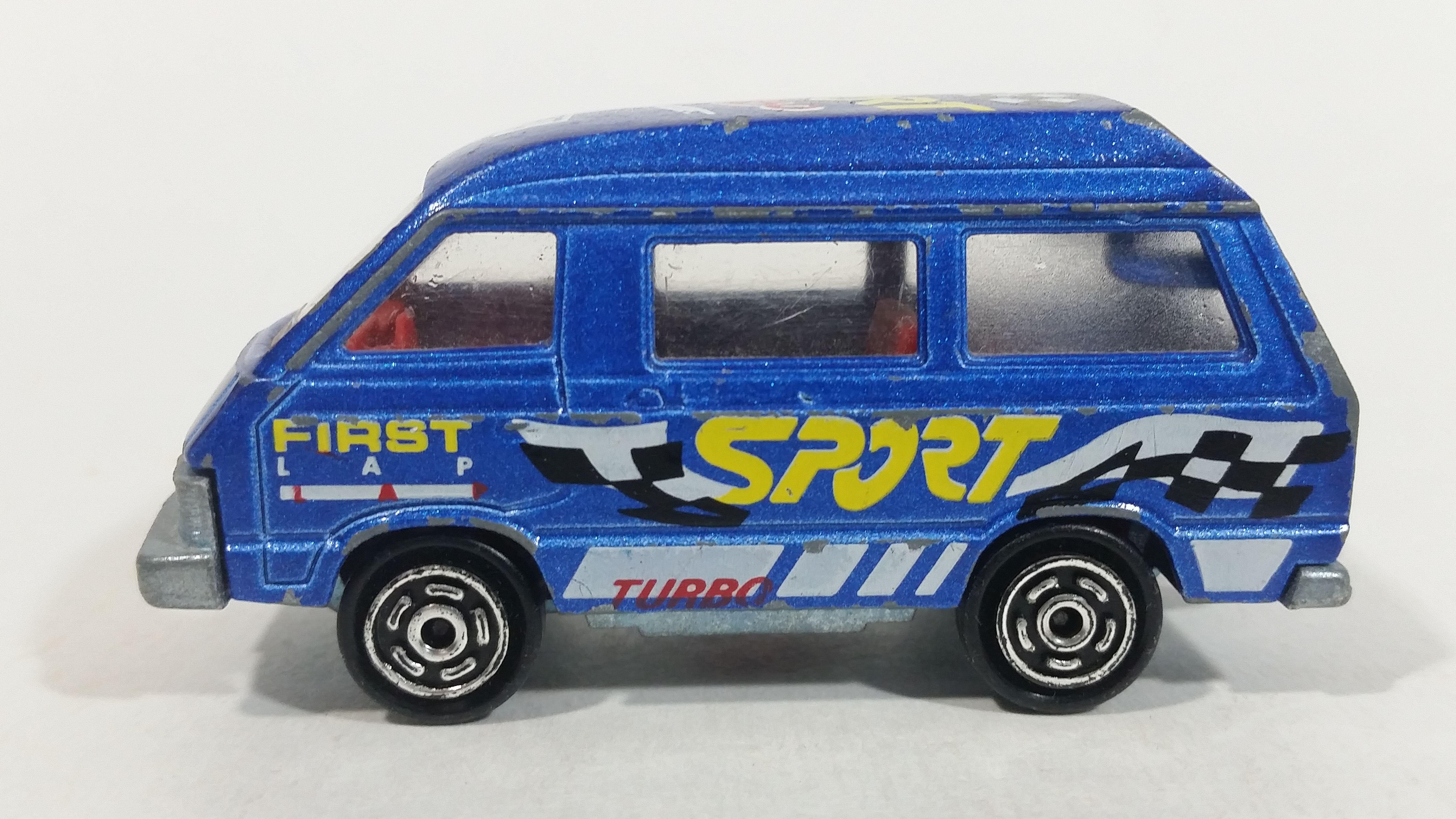 db79a000f4483a Vintage Majorette Toyota Lite Ace Van No. 216 Blue 1/52 Scale Die Cast