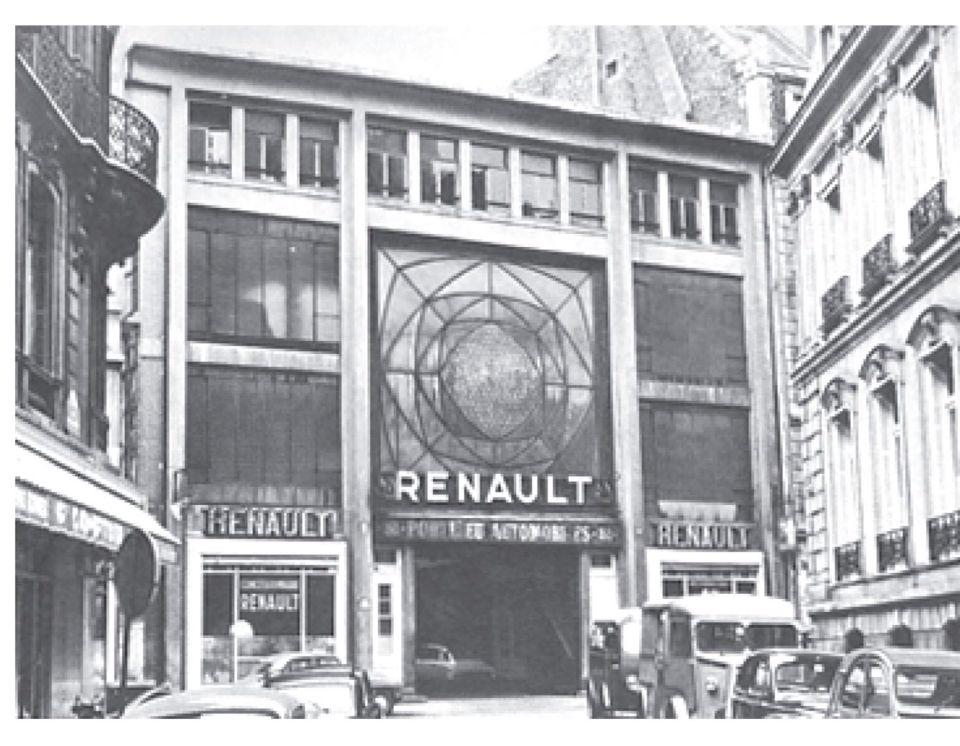 renault garage paris 1905 a perret archi pinterest architecture. Black Bedroom Furniture Sets. Home Design Ideas