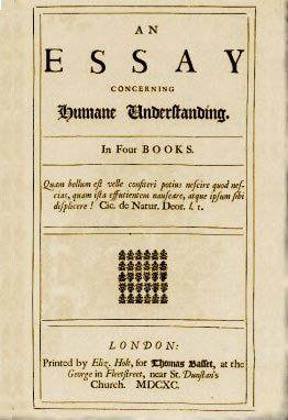 John locke s essay concerning human understanding books