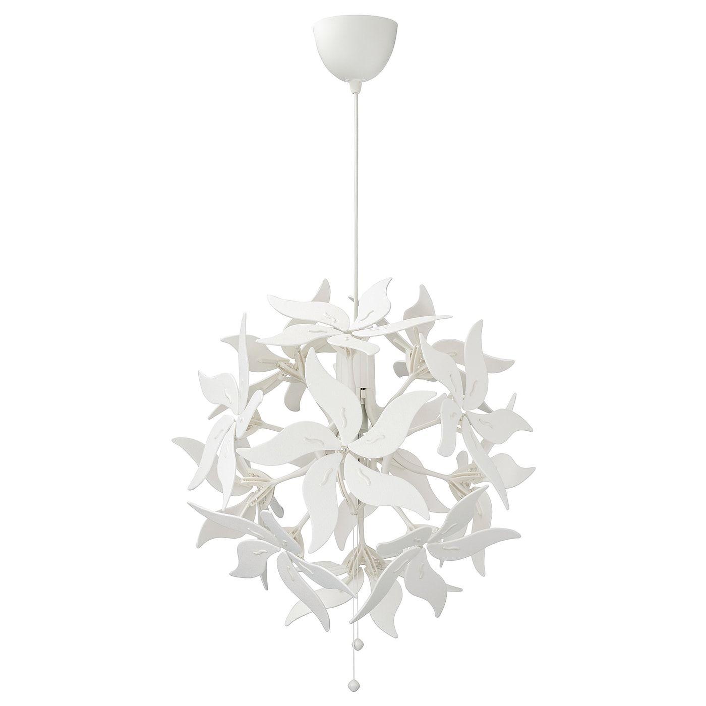 Ramsele Pendant Lamp Flower White 17 White Pendant Lamp