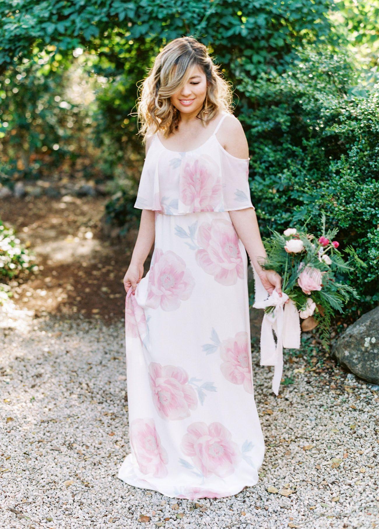 869333c9235 Green Wedding Shoes x Show Me Your Mumu Wedding Bells Spring Launch     Dusty Rose Blush Pink Sage Romantic Mix and Match Bridesmaid Dress   bridesmaid ...
